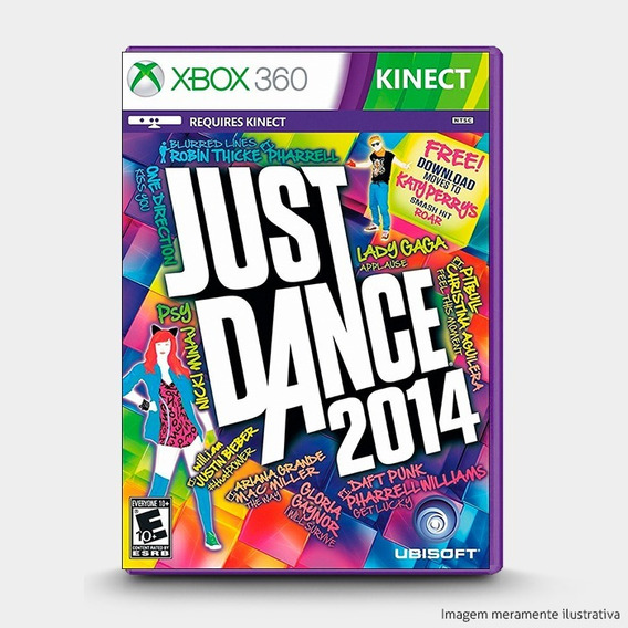 Just Dance 2014 Original Lacrado Para Xbox 360