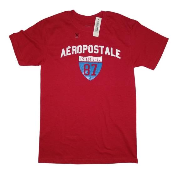 Playeras Lote 5 Pz, Aeropostale, Hollister, A M, Abercrombie