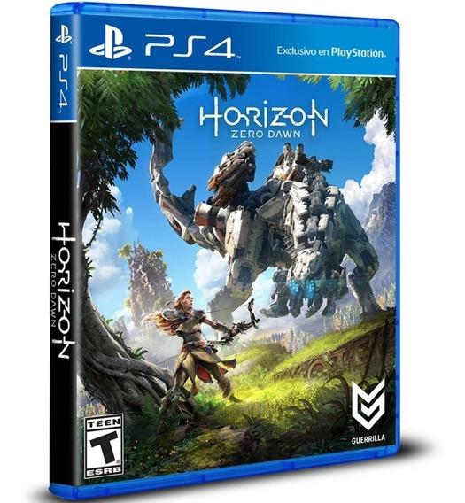 Horizon Zero Dawn Ps4 Midia Fisica Caixa Original Nacional
