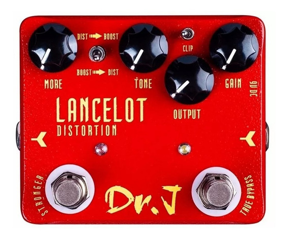 Pedal Joyo Lancelot D-59 Distortion E Boost Drive Guitarra