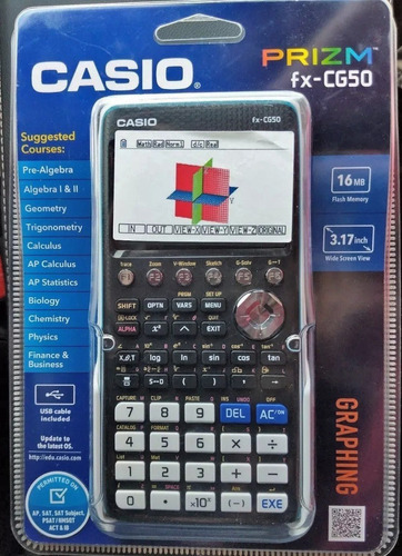 Calculadora Casio Graficadora Fx Cg 50 Color Sellada
