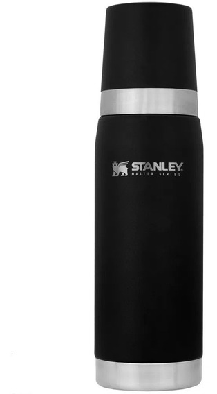 Termo Stanley Serie Master 740ml Negro Frio Calor 27hs Cuota
