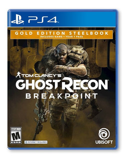 Ghost Recon Breakpoint Steelbook Gold Edit - Playstation 4