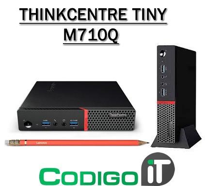 Pc Lenovo Thinkcentre M710q Tiny I7 - $ 33 900,00