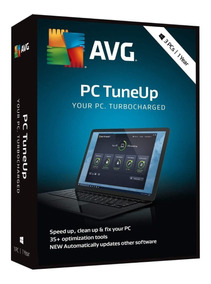 Avg Pc Tuneup 2019 Acelera Pc - Serial Original 1 Ano 5 Pcs