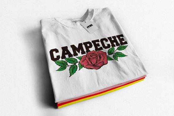 Playera De Moda Niña Y Dama Campeche Lover