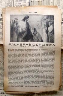 El Cruzado - Ejercito De Salvacion - 10 Enero 1959 8p - Pala
