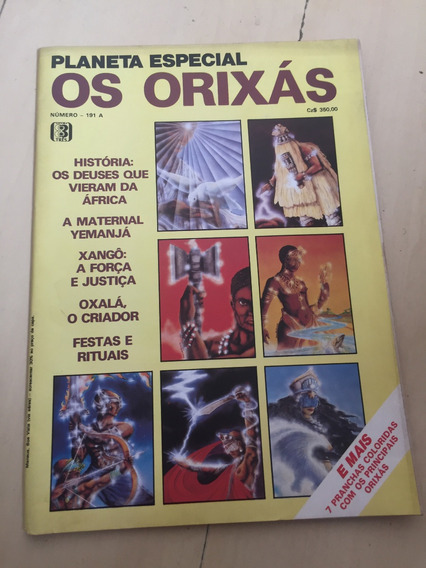 Revista Planeta 191 Orixá Umbanda Yemanjá Xangô H849