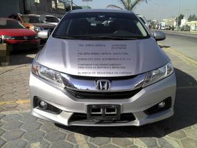 Honda City 1.5 Ex At Cvt 2016 Aut 4 Cilm 1.5 Lts *hay Credit