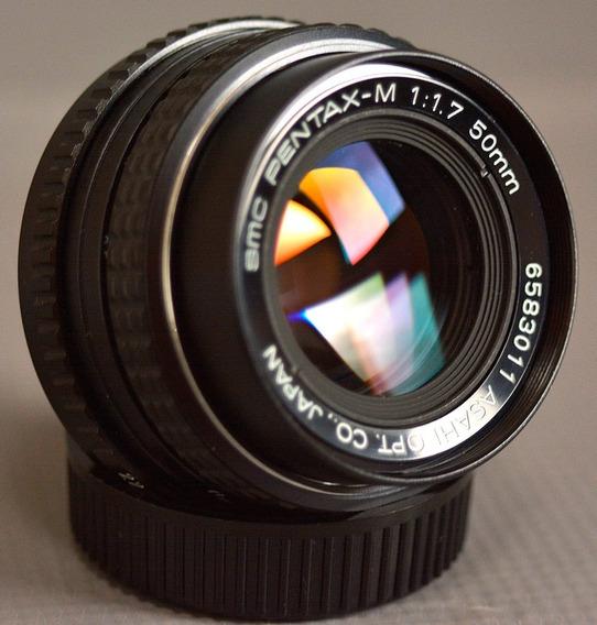 Lente Pentax-m Smc 50mm F/1.7 Mount Pentax K Full Frame
