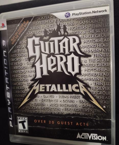 Guitar Hero Metallica - Ps3 - Mídia Física