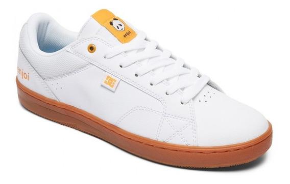 Zapatillas Dc Shoes Mod Astor S X Enjoi Blanco Amarillo!!!