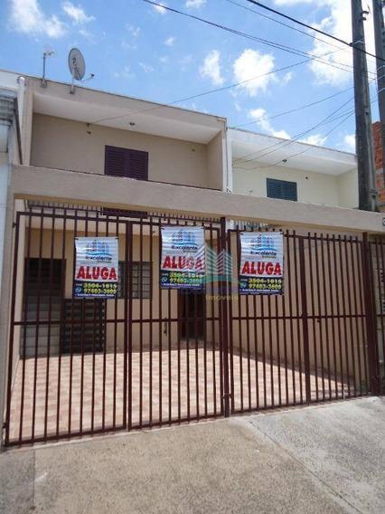 Casa Com 2 Dormitórios Para Alugar, 125 M² Por R$ 850,00/mês - Jardim Amanda I - Hortolândia/sp - Ca0532