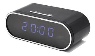 Reloj Despertador Con Cámara Espía