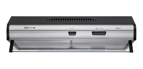Purificador Cocina Spar Bios Duo 60cm Negro Acero Sin Salida