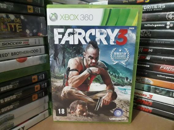 Jogo De Tiro Farcry 3 Xbox 360 Original Mídia Física