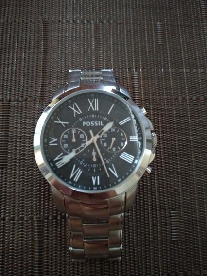 Relógio Fóssil 5atm Fs4736 Original