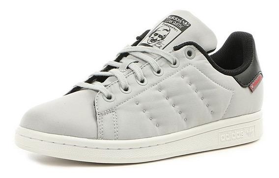 Tenis adidas Stan Smith De Tela By9987 Infantil Originales