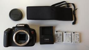 # Camera Canon T5i Rebel Corpo Eos Pro 21.381 3bater Garanti