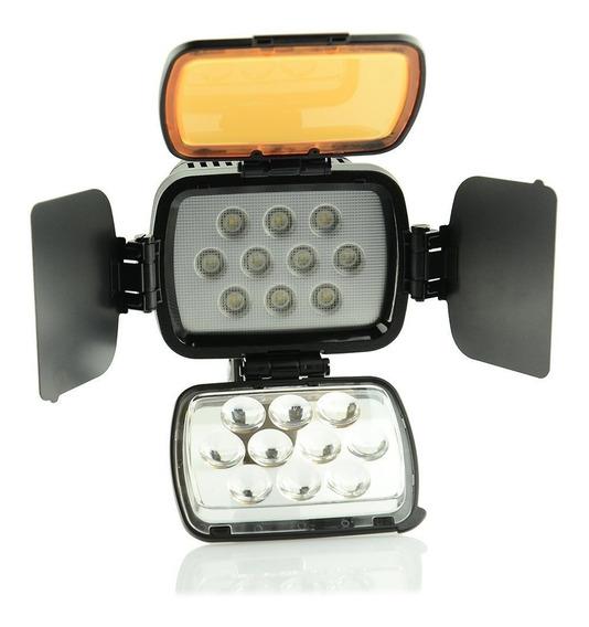 Iluminador De Led Profissional 3200-5500k P Canon Nikon Sony