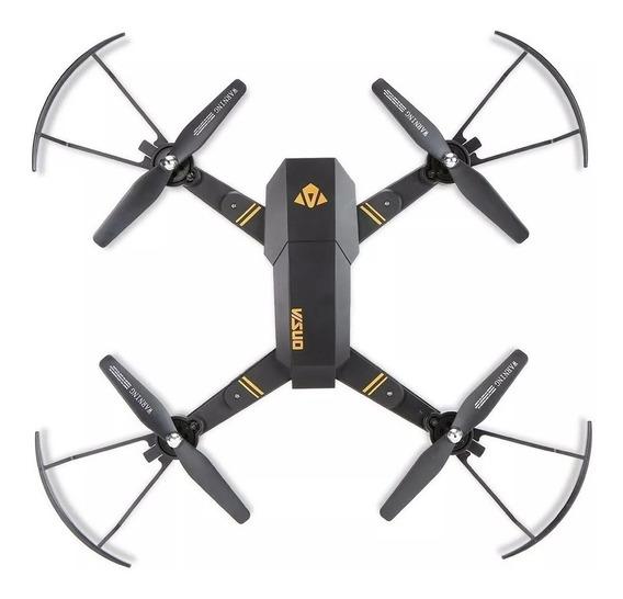 Drone Visuo Xs809w Com Câmera 780pxl 2 Baterias 1200mha ..