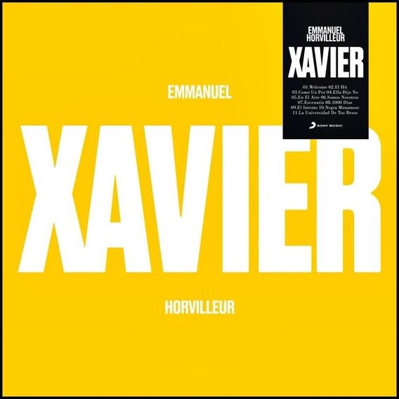 Cd Emmanuel Horvilleur Xavier 2019