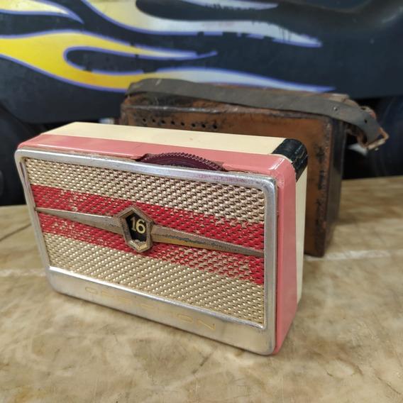 Rádio Portátil Orbiphon Antigo Pequeno Am