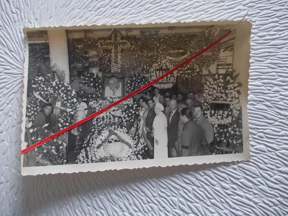 6757- Foto Original Eva Peron, Velatorio, Med. 13cmx8,5cm