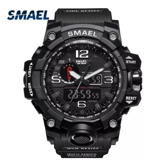 Relógio Smael Militar Original Analógico Digital