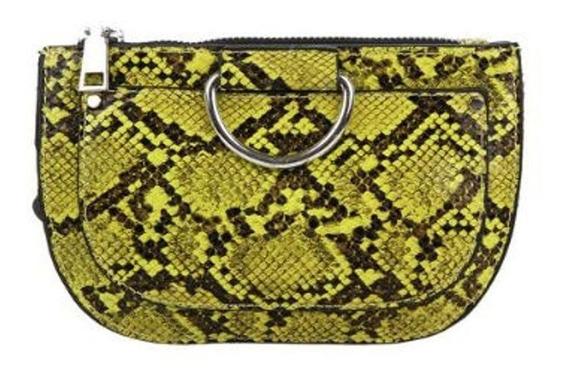 Riñonera Snake Print Round K1650