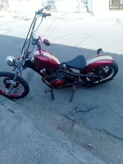 Vendo Moto Choper Honda Xl 500 Modificada