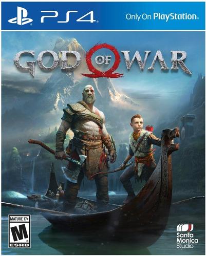 Imagen 1 de 5 de God Of War Ps4 -gow- Fisico-original-sellado-mipowerdestiny
