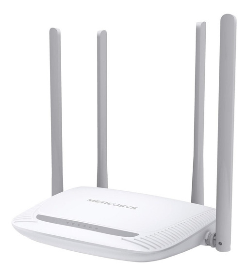 Roteador Wireless 4 Antenas 2.4 Ghz 300mbps Mw325r Mercusys