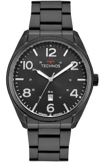 Relógio Technos Militar Masculino 2115msx/4p Preto