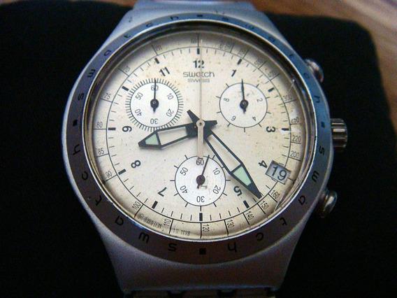 Reloj Swatch Irony Aluminium. Chrono. Swiss Made.