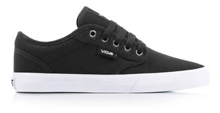 Zapatillas Vicus Folk Canvas Negro (1041)