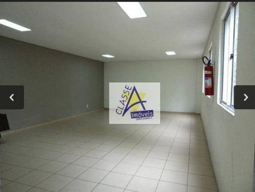 Apartamento Com 2 Dormitórios Para Alugar, 75 M² Por R$ 1.800/mês - Parque São Vicente - Mauá/sp - Ap0636