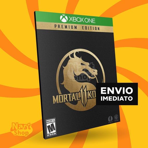 Mortal Kombat 11 Premium Edition Xbox One Mídia Digital