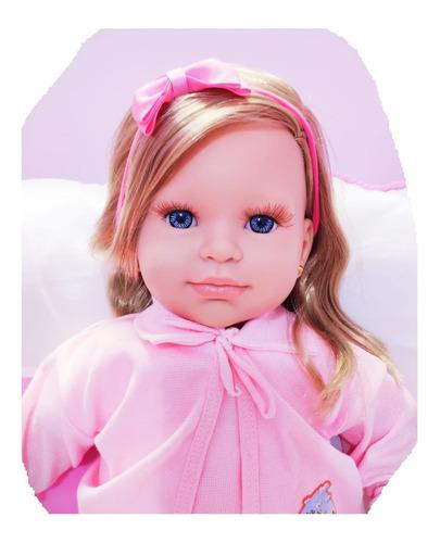 Imagem 1 de 9 de Bebe Reborn Boneca Menina Realista Promoção 23 Itens Linda