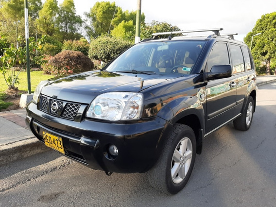 Nissan X-trail Diesel 4x4 2200cc Campero Color Negro