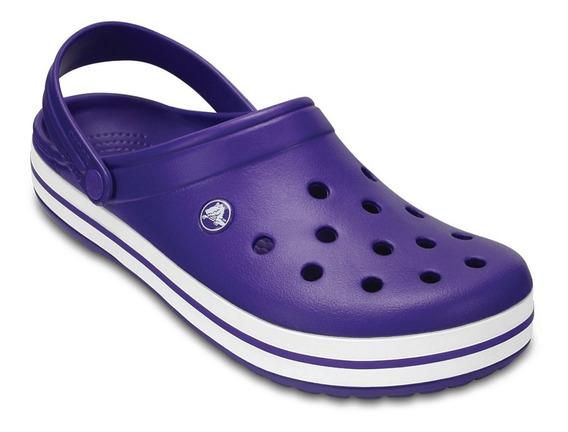 Crocs Ultraviolet & White Crocband