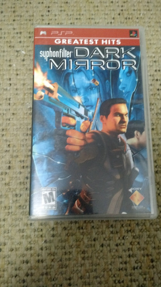 Syphon Filter: Dark Mirror - Psp - Original - Usado