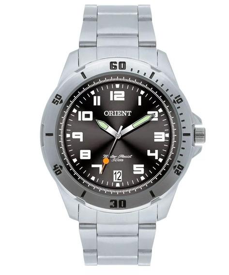 Relógio Orient Masculino Preto Original C/ Nf Mbss1155a P2sx