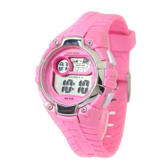 Relógio Surf More Feminino Rosa 6557491f Ro Original Barato