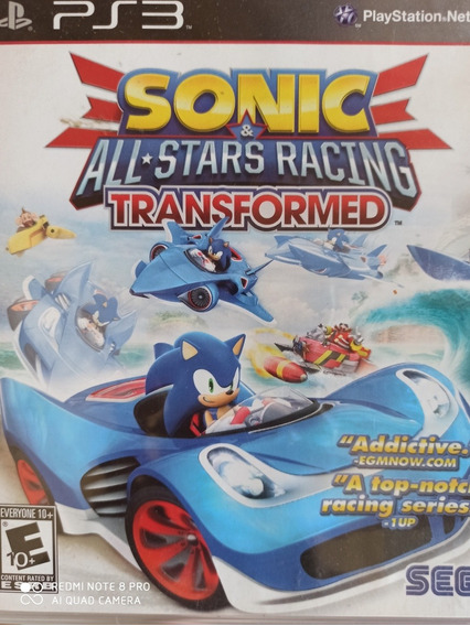 Sonic Sega And All Stars Racing Transformed Ps3