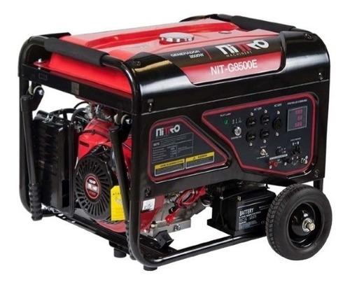 Imagen 1 de 1 de Generador portátil Nitro NIT-G8500E 8000W 110V/220V