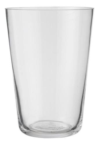 Imagen 1 de 1 de Jarron Basico De Cristal Mediano Transparente