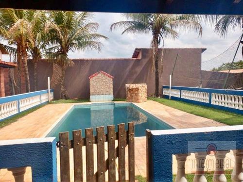 Imagem 1 de 16 de Chácara Com 4 Dormitórios À Venda, 1000 M² Por R$ 640.000,00 - Nova Rheata - Boituva/sp - Ch0647