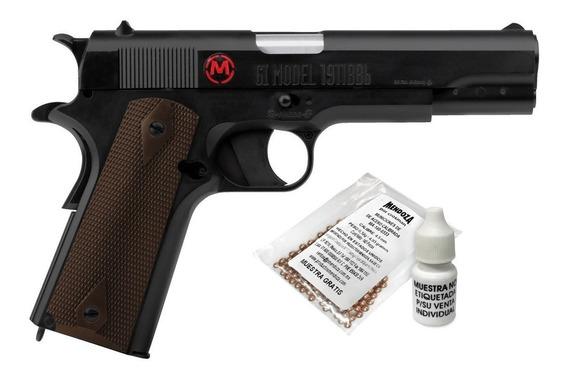 Pistola Co2 Accion Retroceso 18 Mun Blowback Mc40021 Mendoza