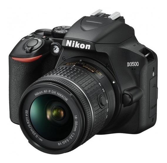 Camara Nikon D3500 Dslr Kit 18-55mm Vr Kt Nueva Garantia